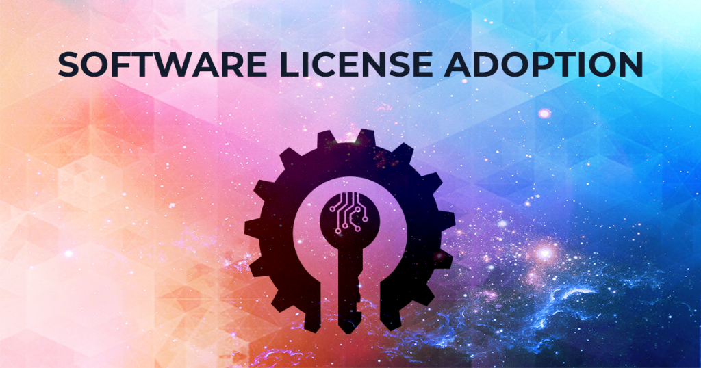 Software License Adoption banner