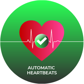automatic heartbeats
