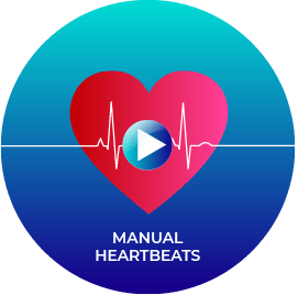manual heartbeats